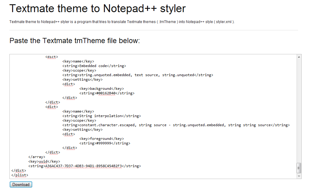 how to change notepad++ theme
